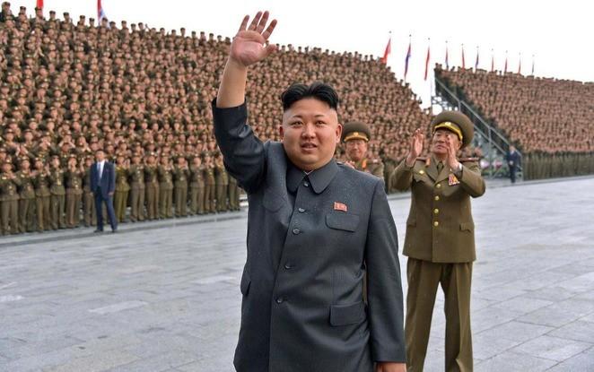 Kim Jong-un, de leider van Noord-Korea