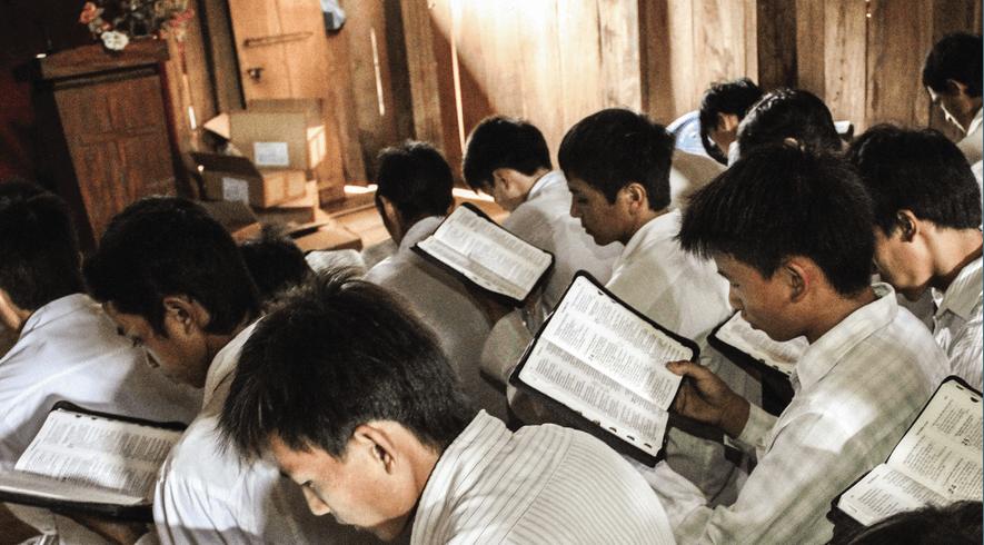 Toerusting vervolgde christenen