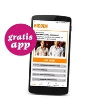 Bid mee via onze app