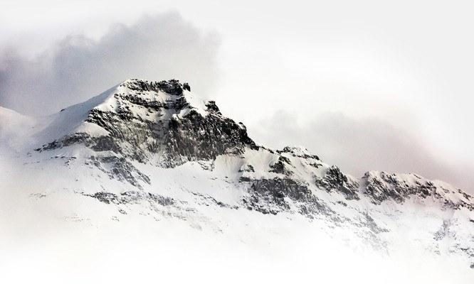 De Mount Everest onder de dromen