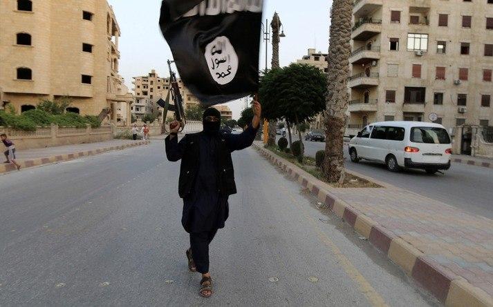 In 2014 vielen strijders van terreurgroep Islamitische Staat Irak binnen