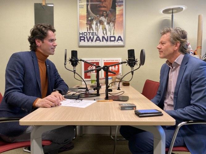 Richard Groenenboom in gesprek met Joël Voordewind