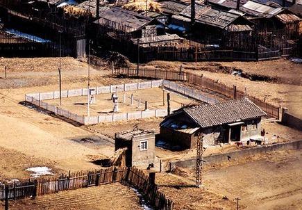Een kamp in Noord-Korea