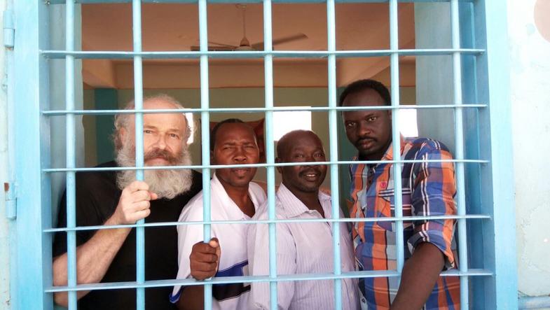 Petr zat in de cel met IS-strijders