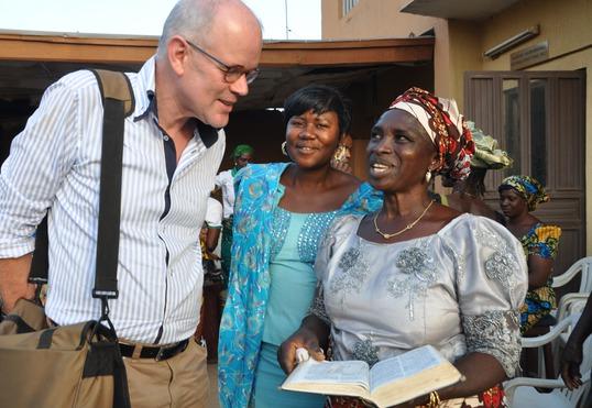 Drs. Piet Vergunst ontmoet Nigeriaanse christenen