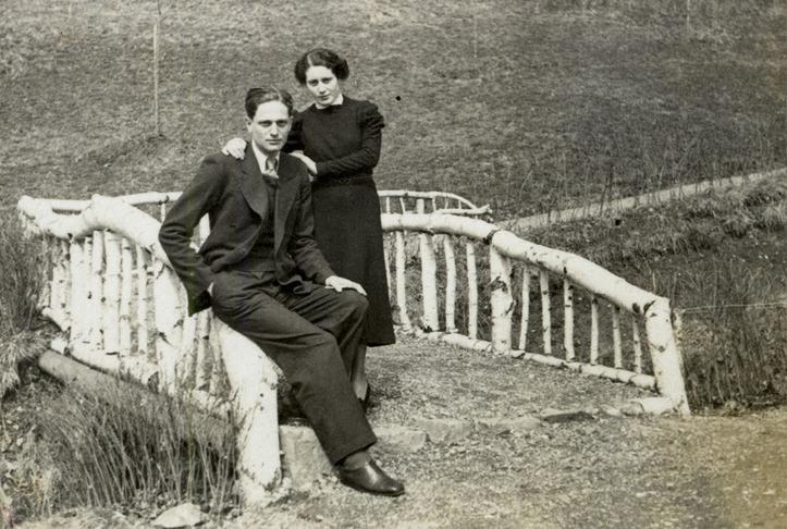 Richard en Sabina Wurmbrand in hun jonge jaren.