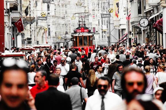 De Turkse hoofdstad Istanbul