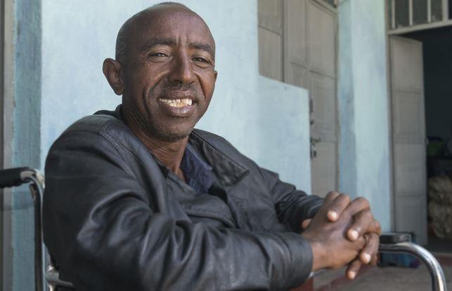 Onze broer uit Eritrea is nog steeds vol vreugde voor de Heere God